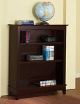 Pali Bookcase Hutch in Vintage Cherry