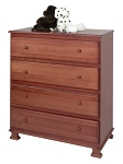 Million Dollar Baby Parker 4 Drawer Dresser in Cherry