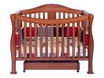 Million Dollar Baby Parker 4-in-1 Convertible Crib in Cherry