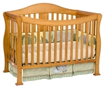 Million Dollar Baby Parker 4-in-1 Convertible Crib in Oak