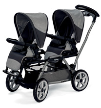 Peg Perego Duette Stroller Seats - Atmosphere (2 Seats Only)