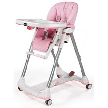 Peg Perego Prima Pappa Diner HiChair in Savana Rose