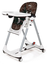 Peg Perego Prima Pappa Diner High Chair, Savana Cacao