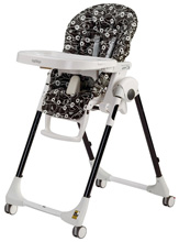 Peg Perego Prima Pappa Zero 3 High Chair, Pavillion Black
