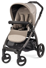 Peg Perego Book Pop Up Stroller, Cream