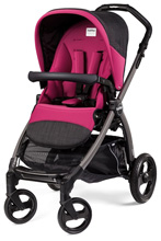 Peg Perego Book Pop Up Stroller, Fleur