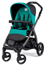 Peg Perego Book Pop Up Stroller, Aquamarine