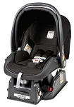 Peg Perego Primo Viaggio Infant Car Seat SIP 30/30 in Licorice- Leatherette