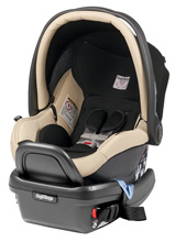 Peg Perego Primo Viaggio Infant Car Seat 4/35 in Paloma- Leather