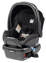 Peg Perego Primo Viaggio Infant Car Seat 4/35 in Licorice - Black Leather