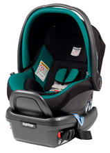 Peg Perego 2014 Primo Viaggio Infant Car Seat 4/35 in Aquamarine