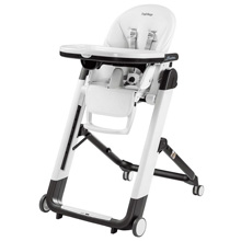 Peg Perego Siesta High Chair, Latte - White