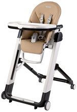 Peg Perego Siesta High Chair, Noce - Beige