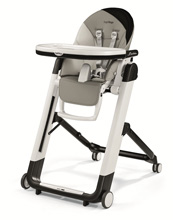 Peg Perego Siesta High Chair, Palette Grey