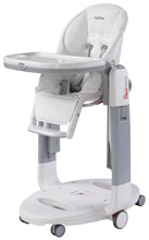 Peg Perego Tatamia High Chair, Latte-White
