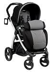 Peg Perego Book Plus Stroller in Stone Black