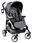 Peg Perego 2012 Pliko Four Stroller in Pois Grey