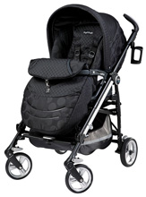 Peg Perego Switch Four in Pois Black - Black/Black Dots