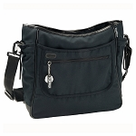 Borsa Mamma ( Diaper Bag ) in Nero-Leather