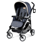 Peg Perego 2012 Pliko Four Stroller in Denim