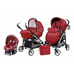 Peg Perego Switch Four Modular System in Geranium