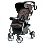 Peg Perego Vela Easy Drive Stroller in Newmoon