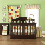 Pem America Too Good by Jenny McCarthy ABC 4 Piece Crib Set