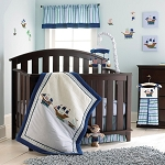 Laura Ashley Pirate Adventure 4-Pieces Bedding Set Blue