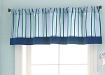 Laura Ashley Pirate Adventure Window Valance Blue