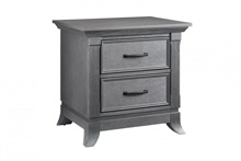 Ozlo Baby Pendleton Nightstand in Marble Gray
