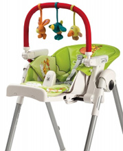 Peg Perego Play Bar with Plush Toy for all High Chairs