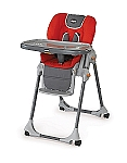 Chicco Polly 2 In 1 Highchair in Fuego