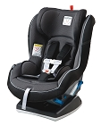 Peg Perego Primo Viaggio Convertible Car Seat in Crystal Black