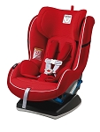 Peg Perego Primo Viaggio SIP Convertible Carseat in Crystal Red