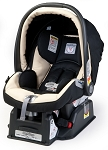 Peg Perego Primo Viaggio Infant Car Seat SIP 30/30 in Paloma- Leatherette