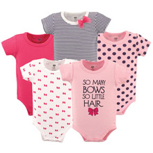 Baby Vision So Many Bows Bodysuit 5-Pack