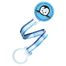 RaZbaby Keep It Kleen Pacifier Holder, Blue