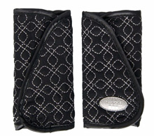 JJ Cole Reversible Strap Covers, Black