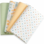 Kids Line Receiving Blanket Noah 4 PK