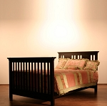 Romina Kids Furniture Karisma Conversion Kit Amaretto (picture does not represent actual color)