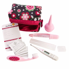 Safety 1st Baby's 1st Healthcare Kit Raspberry