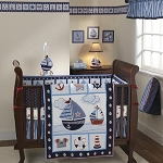 Bedtime Originals Sail Away 3 Piece Bedding Set