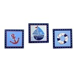 Bedtime Originals Sail Away Wall Hanging