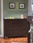 Pali Salerno Double Dresser in Mocachino