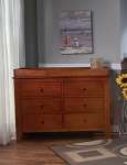 Pali Salerno Double Dresser in Sienna