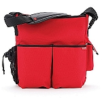Skip Hop Duo Deluxe Edition Diaper Bag Red