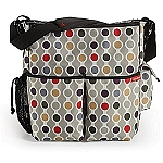 Skip Hop Duo Deluxe Edition Diaper Bag Wave Dot
