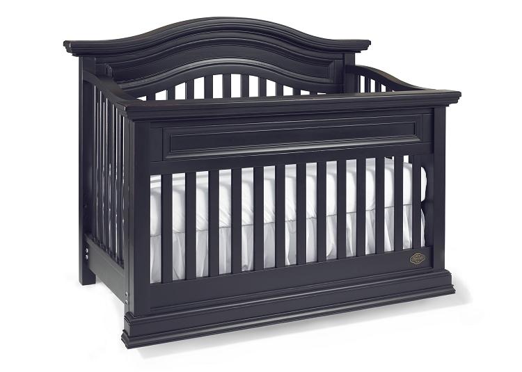 Furniture Kids furniture Crib Black Crib