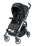 Peg Perego Si Lightweight Stroller in Nero Black
