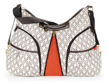 Skip Hop Versa Cream Links Diaper Bag